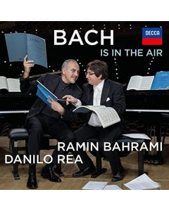 Bach is in the Air with personalized Autograph of the Artist