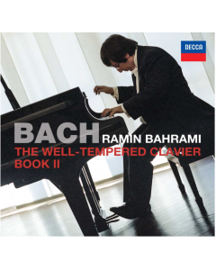 The Well-Tempered Clavier Book II with personalized Autograph of the Artist