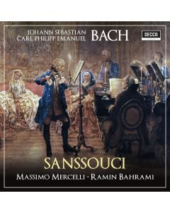 Sanssouci with personalized Autograph of the Artist